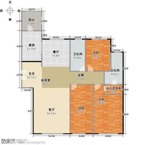 天润・香墅湾1号3室2厅2卫0厨181.83㎡户型图