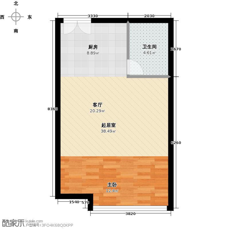 京师吉地47.00㎡H47户型10室