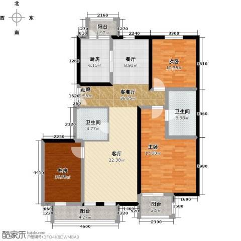 汤泉墅3室2厅2卫0厨135.00㎡户型图