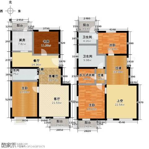 汤泉墅4室2厅3卫0厨205.00㎡户型图