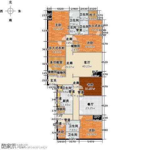 东方之门6室2厅5卫0厨383.00㎡户型图