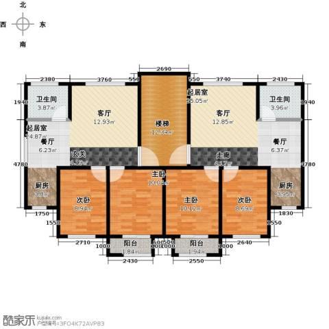 城南人家2室2厅1卫0厨111.67㎡户型图