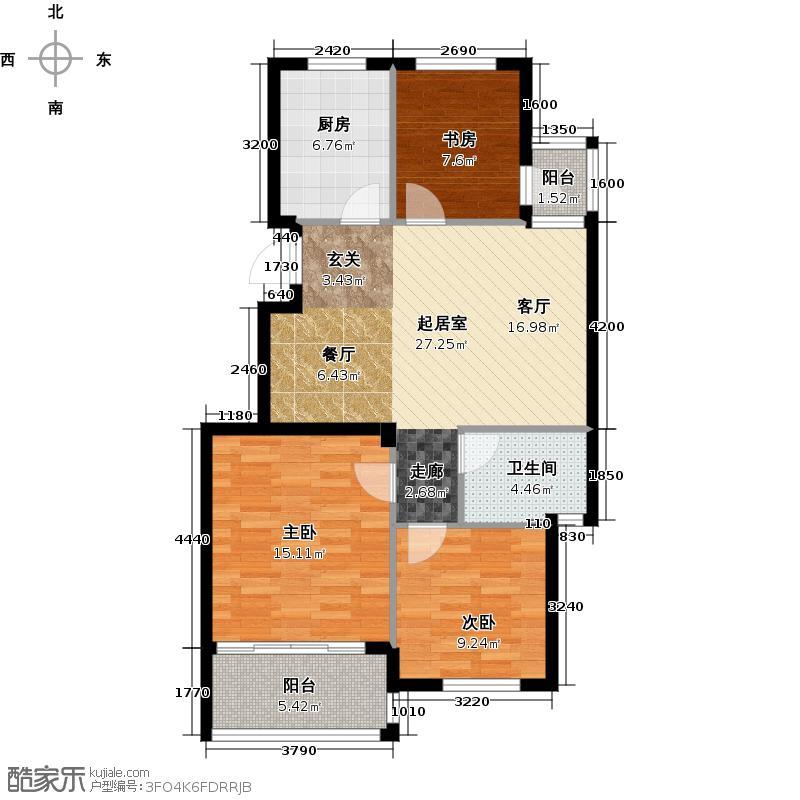华润翠庭89.00㎡A02/04户型10室