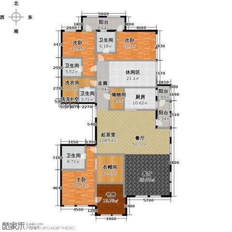 中粮祥云国际生活区3室2厅3卫0厨359.00㎡户型图