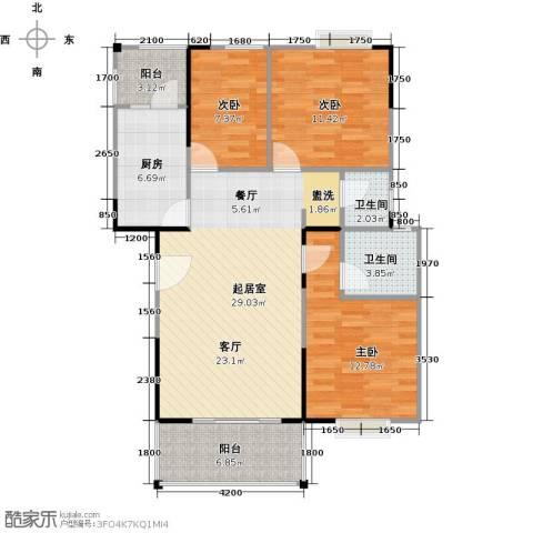 中誉南岸公馆112.00㎡户型图
