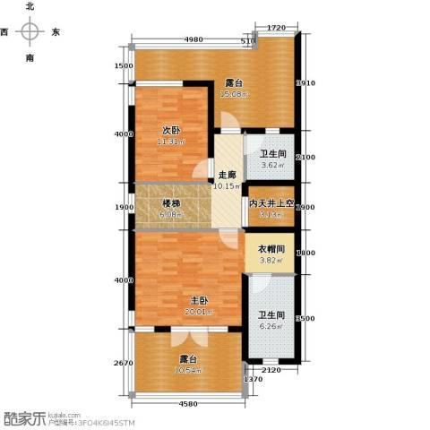 保利生态城4室3厅2卫0厨115.00㎡户型图