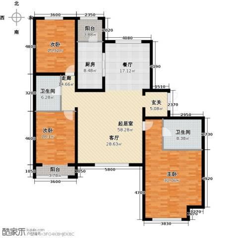 禧福汇国际社区212.00㎡户型图