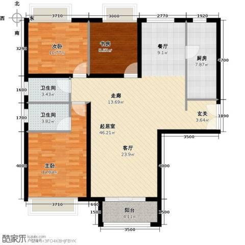 禧福汇国际社区148.00㎡户型图