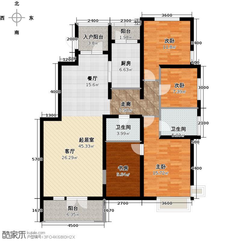 北京风景150.00㎡D户型4室2厅2卫