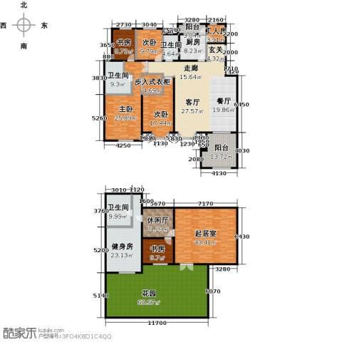 中国铁建・花语城4室2厅2卫0厨333.03㎡户型图