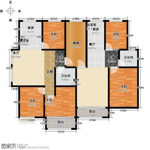 城南人家3室2厅1卫0厨138.69㎡户型图