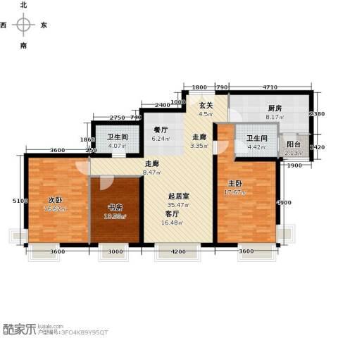 禧福汇国际社区139.00㎡户型图