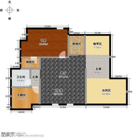 领秀・翡翠山4室2厅3卫0厨102.95㎡户型图