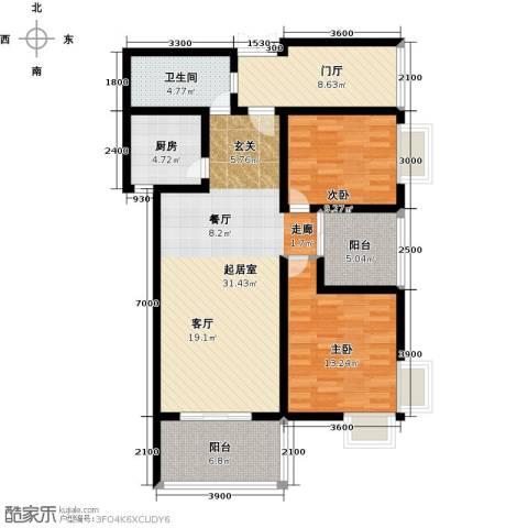 上上城3室2厅1卫0厨102.00㎡户型图