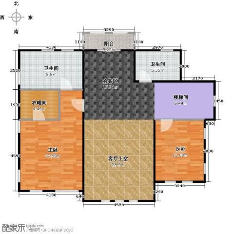 天恒别墅山2室1厅2卫0厨139.00㎡户型图