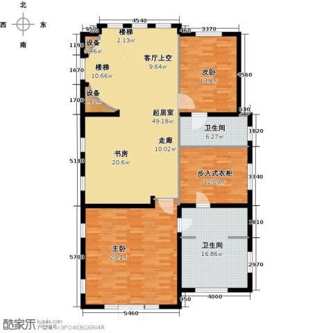 珠江・紫宸山177.00㎡户型图