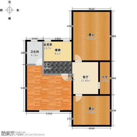 荆溪人家1室0厅1卫0厨132.00㎡户型图