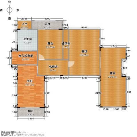 万科城1室0厅1卫0厨190.00㎡户型图