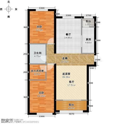 纳帕澜郡2室0厅1卫1厨115.00㎡户型图