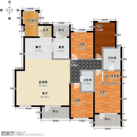 金融街・金色漫香苑4室0厅2卫1厨188.00㎡户型图