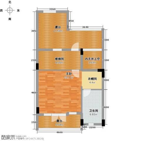 保利生态城1室0厅1卫0厨296.00㎡户型图
