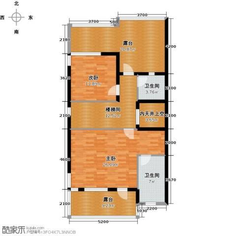 保利生态城2室0厅2卫0厨316.00㎡户型图