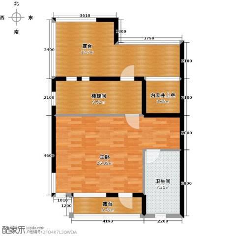 保利生态城1室0厅1卫0厨316.00㎡户型图