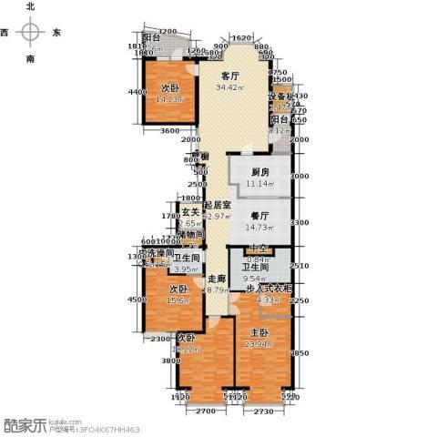 公园18724室0厅2卫1厨250.00㎡户型图