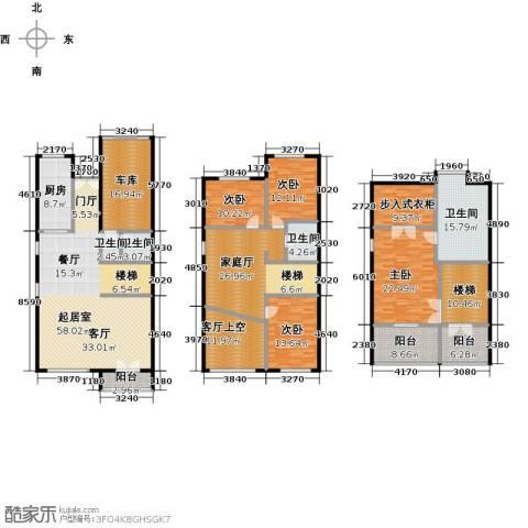 提香草堂4室0厅3卫1厨270.00㎡户型图