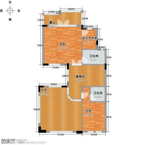 保利生态城2室0厅2卫0厨398.00㎡户型图