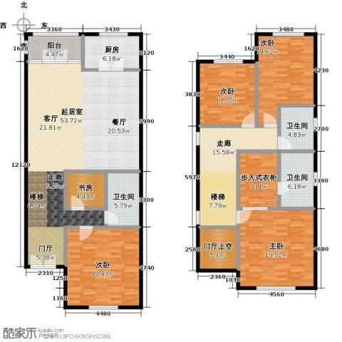 提香草堂5室0厅3卫1厨203.00㎡户型图
