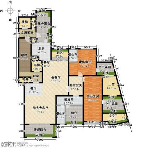 金地天玺1厅2卫1厨526.00㎡户型图