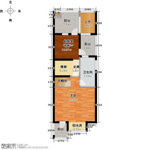 尚东庭1室0厅1卫0厨104.00㎡户型图