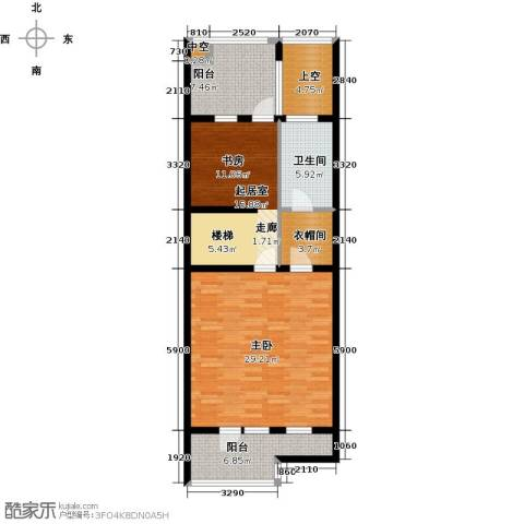 尚东庭1室0厅1卫0厨107.00㎡户型图