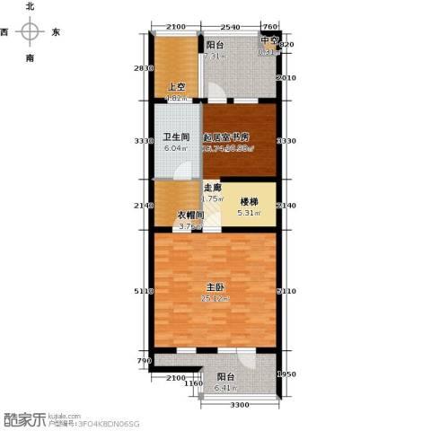 尚东庭1室0厅1卫0厨101.00㎡户型图