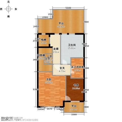 京基・鹭府2室0厅1卫0厨420.00㎡户型图