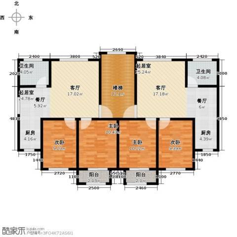 城南人家4室0厅2卫0厨113.76㎡户型图