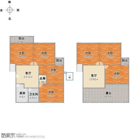 申波苑7室2厅1卫1厨355.00㎡户型图