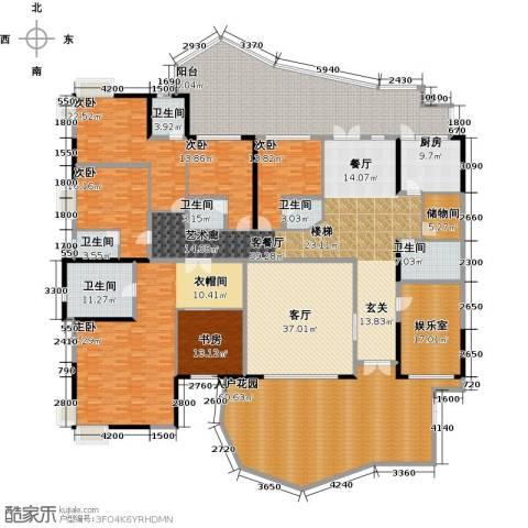 星河传说天玺6室2厅6卫1厨550.00㎡户型图