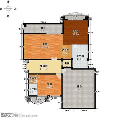 海琴湾2室0厅2卫0厨217.00㎡户型图