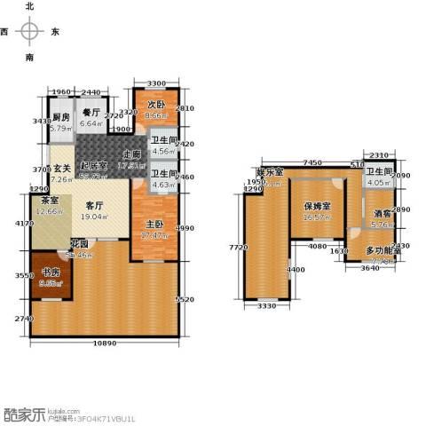 昂展公园里3室0厅3卫1厨235.19㎡户型图