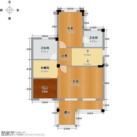 尚荟海岸2卫0厨104.00㎡户型图