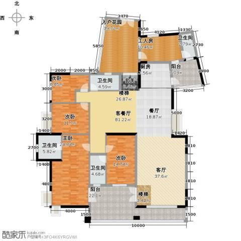 星河传说天玺4室1厅4卫1厨314.00㎡户型图