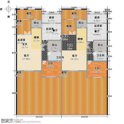 荆溪人家2室0厅2卫2厨594.00㎡户型图