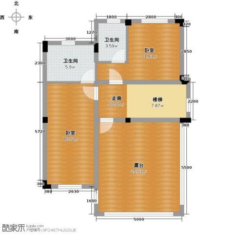 尚荟海岸2卫0厨103.00㎡户型图