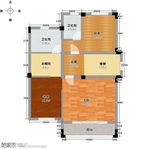 尚荟海岸1室0厅2卫0厨103.00㎡户型图