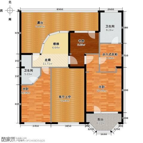 润泽悦溪3室0厅2卫0厨184.00㎡户型图