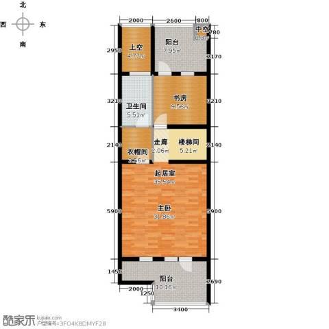 尚东庭1室0厅1卫0厨111.00㎡户型图
