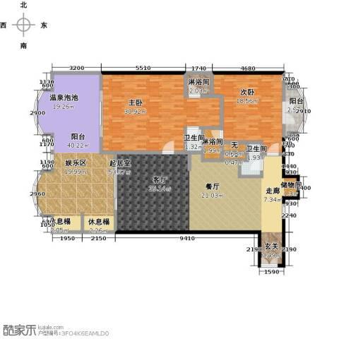 春晖・随园2室0厅2卫0厨214.00㎡户型图