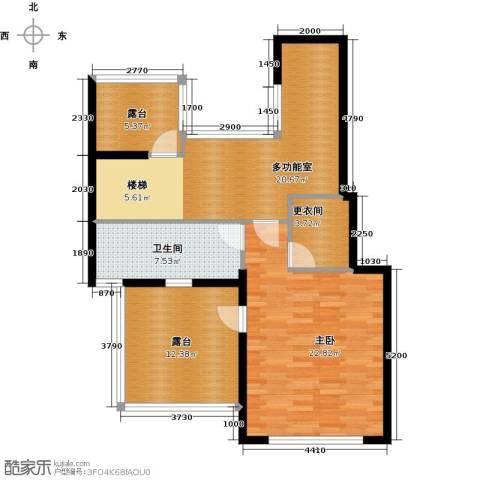 北京奥林匹克花园1室0厅1卫0厨200.00㎡户型图